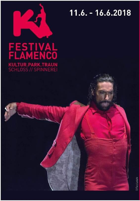 flyer flamenco festival traun linz 2018 cover